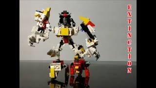 Lego Transformador Dinobot Combinador de Extinción Por BX Brix