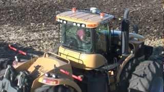 Challenger MT965 C in action! one of biggest tractors!!