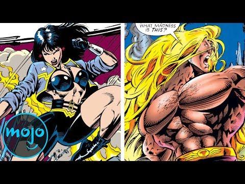 Top 10 Superhero Costumes That Went Too Far