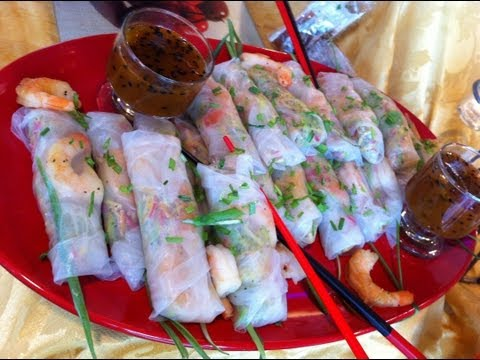 Very Healthy Shrimp Spring Rolls