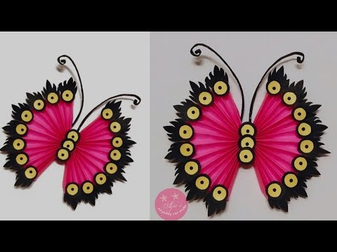 WOW BEAUTIFUL UNIQUE PAPER WALL HANGING | BUTTERFLY WALL/DOOR DECOR | GIFT IDEA