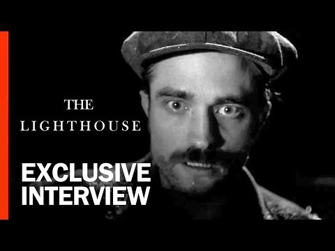 Robert Pattinson & Robert Eggers On The WTF Weirdness of The Lighthouse | Rotten Tomatoes