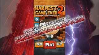 Hardest Game Ever 2 Cheat  Ios, Android  Hardest Game Ever 2 Hack  Unlimited Cheats