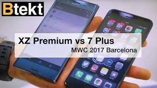 Sony Xperia XZ Premium vs iPhone 7 Plus