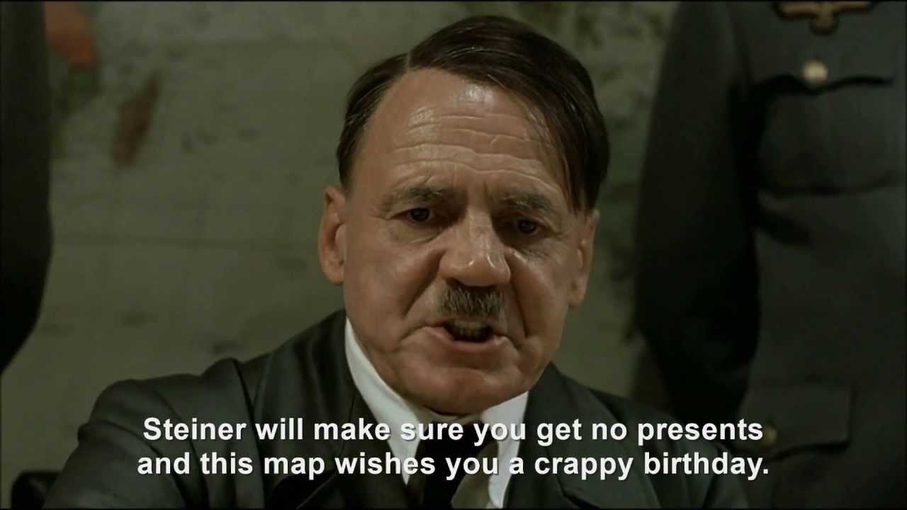 Hitler plans to ruin Jodl's birthday