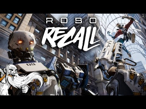 "Robo Recall VR Gameplay - ""RADICAL ROBOT REBELLION!!!"" Oculus Virtual Reality Let's Play"