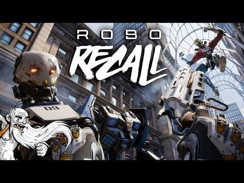 "Robo Recall VR Gameplay - ""RADICAL ROBOT REBELLION!!!"" Oculus Virtual Reality Let"