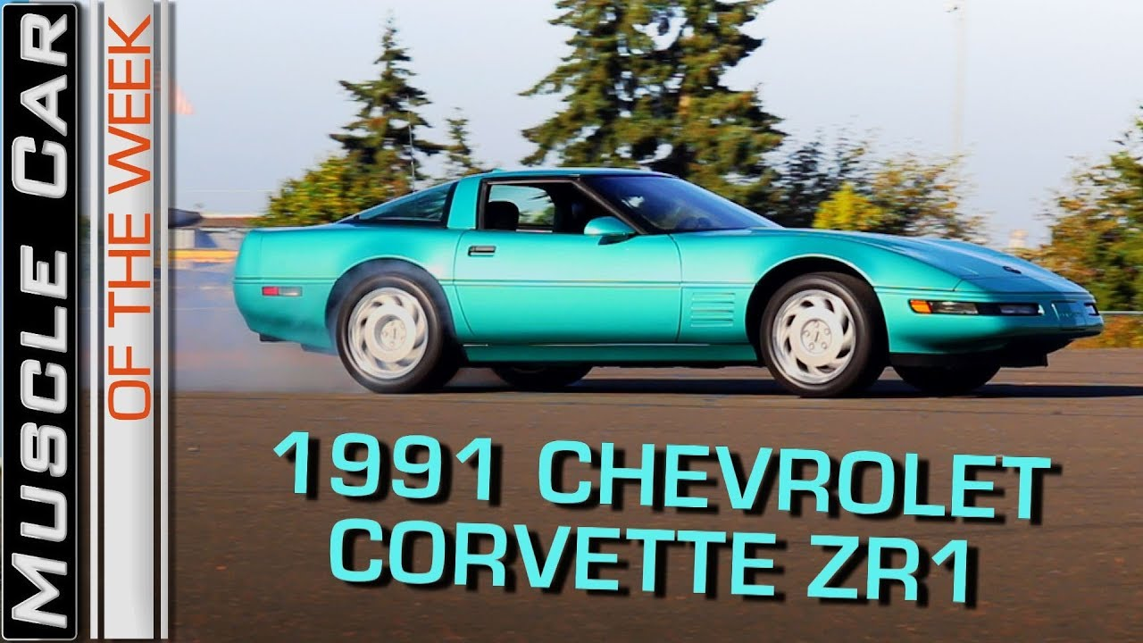 1991 Chevrolet Corvette ZR1 LT5: Muscle Car Of The Week Episode 262 V8TV