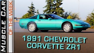 1991 Chevrolet Corvette ZR1 LT5:  Muscle Car Of The Week Episode 262 V8TV