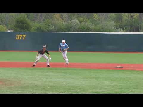 Wright State Prospects Camp - Stole 3rd, after stealing 2nd, after the single. 10/15/2017