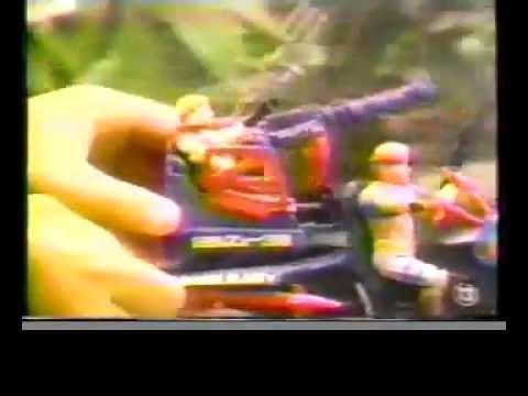 GI JOE 1987 Toy Commercial Dreadnok Cycle & Air Skiff