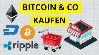Wie und wo man Bitcoins & alle Kryptowährungen kaufen kann - Schritt-für-Schritt Anleitung 💶