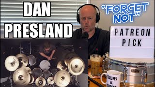 Drum Teacher Reacts: DAN PRESLAND   Ne Obliviscaris   ''Forget Not''   play through (2021 Reaction)