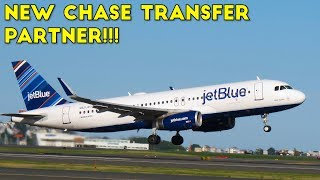 Chase Adds JetBlue as Ultimate Rewards Transfer Partner!!