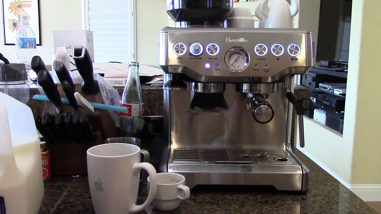 Cappuccino On The Breville Barista Express Youtube