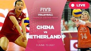 China v Netherlands - Group 1: 2016 FIVB Volleyball World Grand Prix
