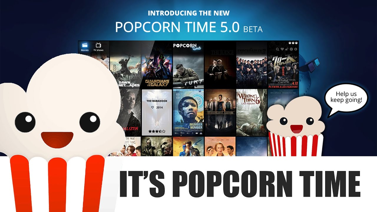 Popcorn Time - Watch movies and series online for free ...
