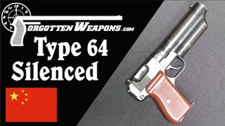 The Coolest Gun You Will See All Day: China's Type 64 Silenced Pistol