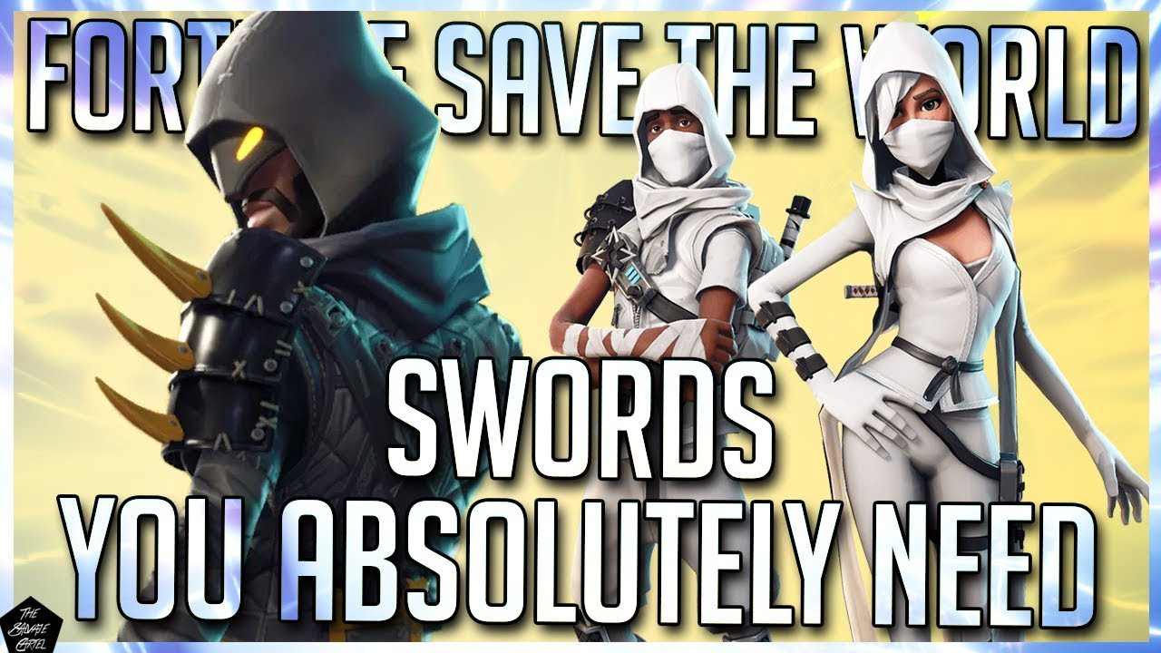 e1e08eca414 BEST SWORDS IN FORTNITE SAVE THE WORLD! FORTNITE STW BEST WEAPONS ...