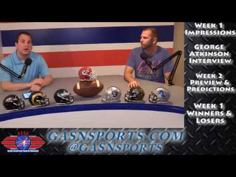 Not For Long Pro Football Show - George Atkinson 9-15-17