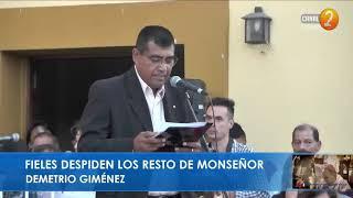 HASTA SIEMPRE MONS. DEMETRIO JIMENÉZ PRELATURA CAFAYATE