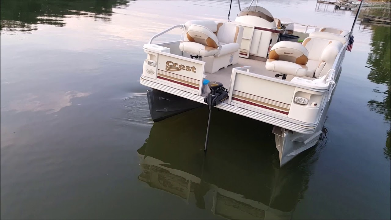 Pontoon boat trolling motor minn kota co pilot youtube for Minn kota trolling motors for pontoon boats