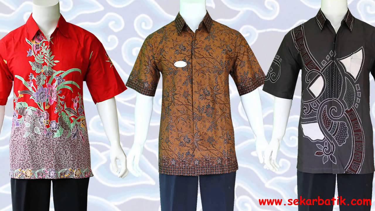 Baju Kemeja Batik Pria Modern Di Sekarbatik Youtube