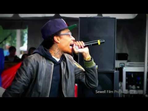 Wiz Khalifa - Car Service - 1080p Live Fish Eye