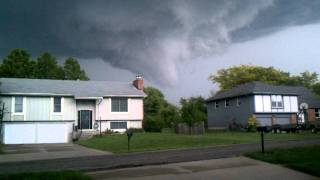 May 21st, 2011 tornado funnel Topeka, Ks