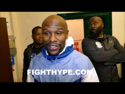 FLOYD MAYWEATHER GIVES JAMES TONEY MAJOR PROPS ON MASTERY OF SHOULDER ROLL AND CAREER
