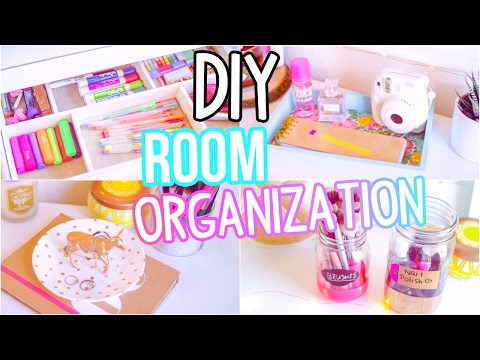 DIY Room Organization 2017!! Easy Ways To Get Organized!