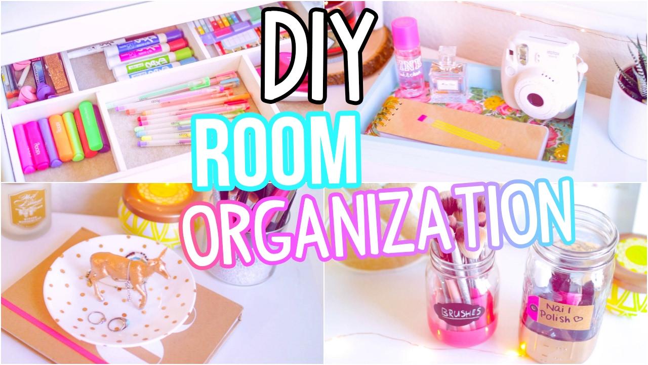 Diy Room Organization 2017 Easy Ways To Get Organized