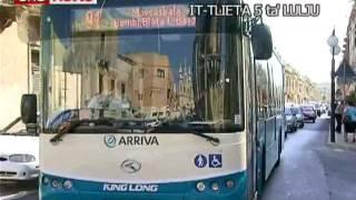 Is-Servizz tal-Arriva matul l-ewwel ġimgħa f'Malta.