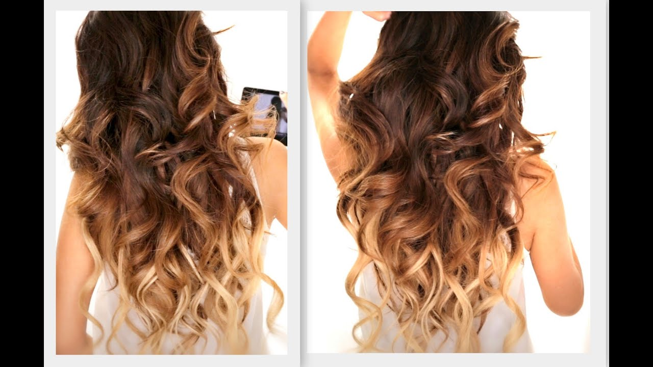 Curling Iron Hairstyles For Long Hair