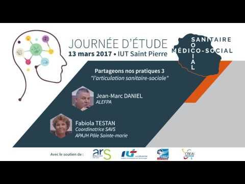 Jean Marc DANIEL - ALEFPA & Fabiola TESTAN - coordinatrice SAVS, APAJH Pôle Sainte Marie