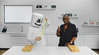 Building The Electric Puff Carnival Main Stage with Randy Jackson | Cooking with Marshmello