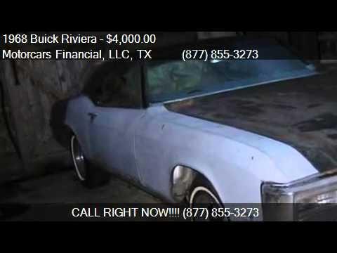 1968 Buick Riviera  for sale in Headquarters in Plano, TX 75