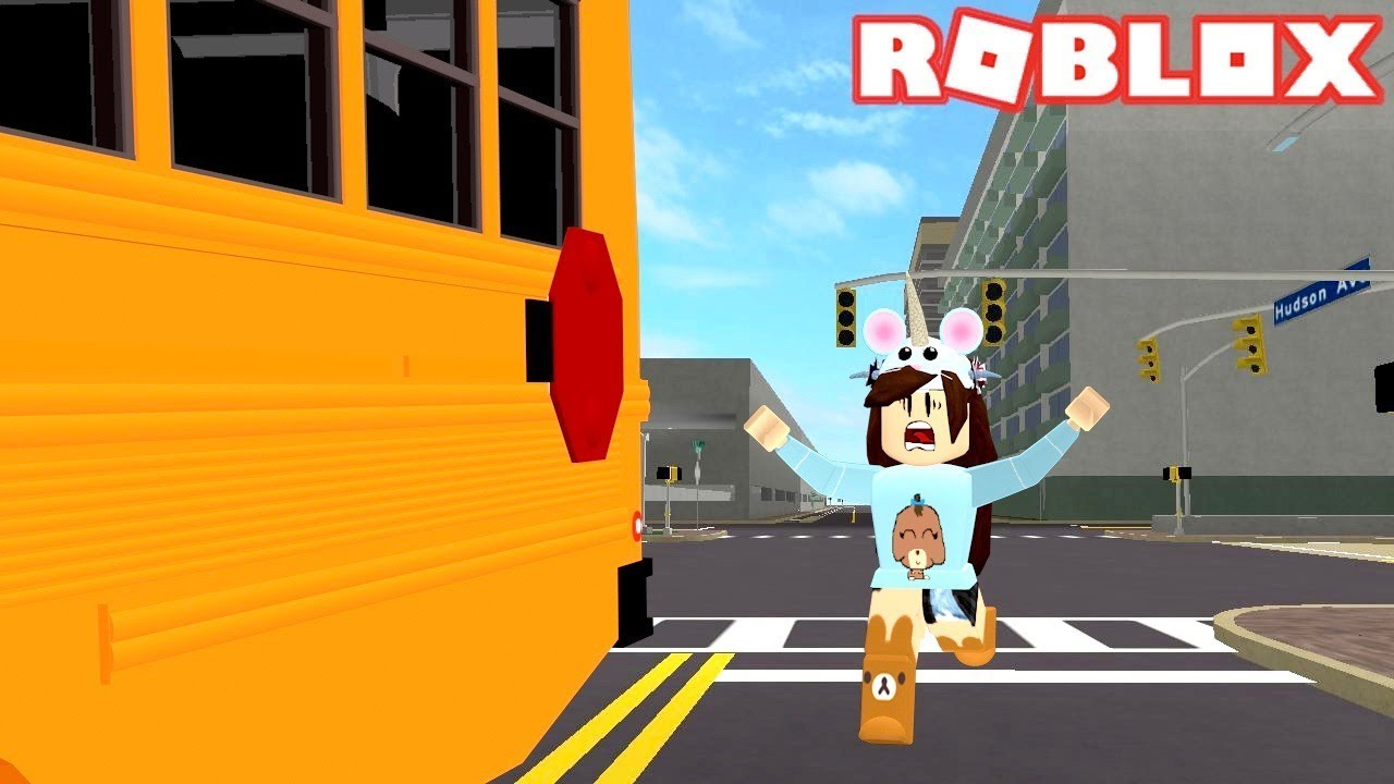 how to drive school bus roblox