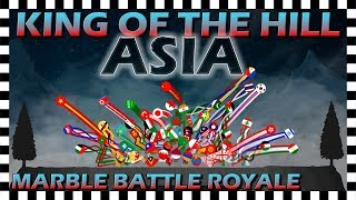 King of the Hill Asia - Marble Battle Royale - Algodoo
