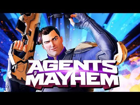 Agents of Mayhem Gameplay German - Drei Agenten gegen Babylon