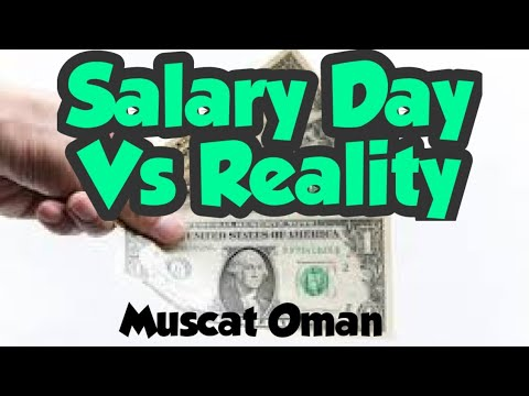 Salary Day Felling Rich Muscat Oman #Vlog 15
