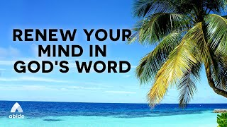 Soothing Meditation Time With The God Of Miracles | Renew Your Mind in God's Word As You Sleep