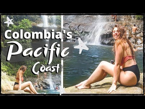 DISCOVERING COLOMBIA'S PACIFIC COAST 😍🇨🇴Solo Backpacking Colombia