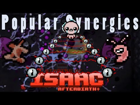 The Binding of Isaac Afterbirth Plus | Laser Walls? | Popular Synergies!