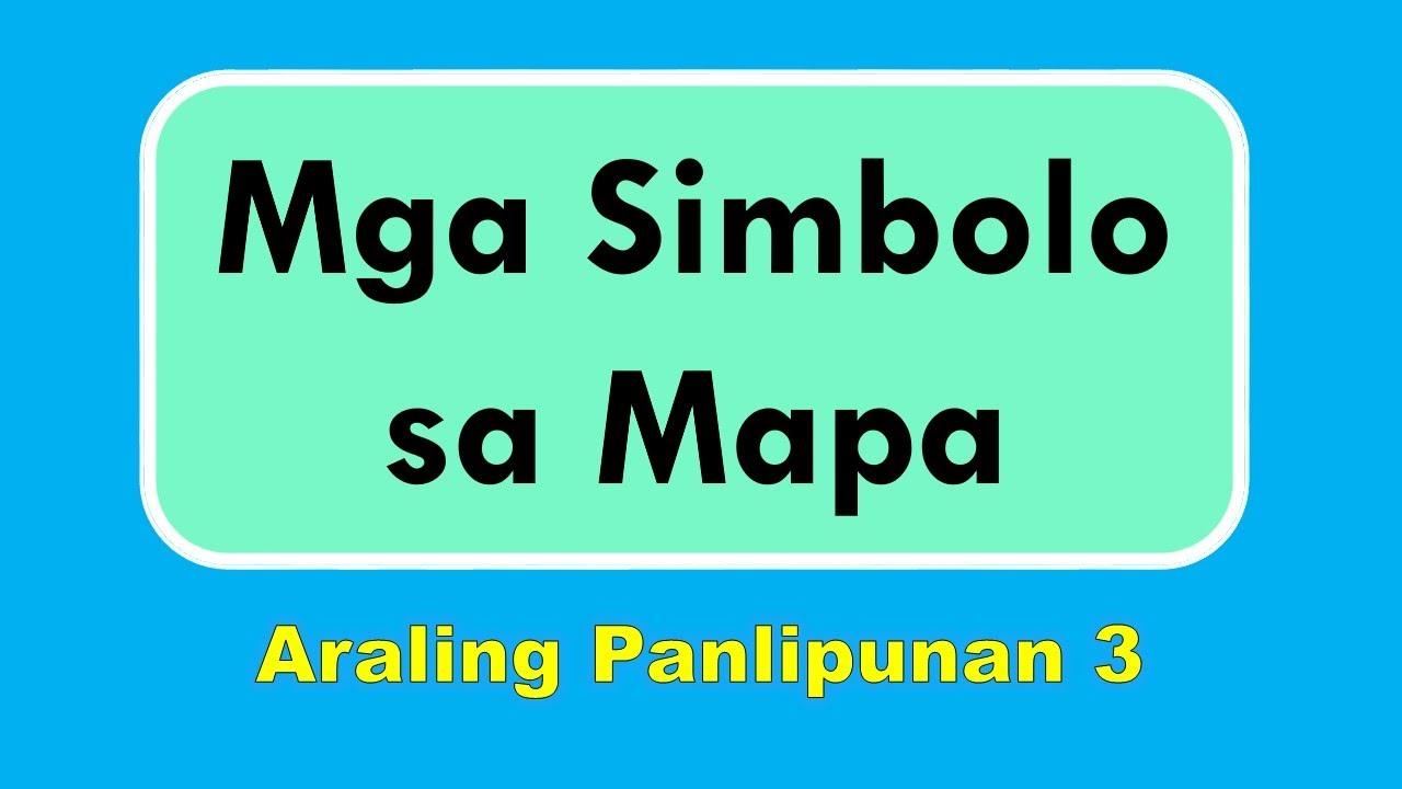 hight resolution of Mga Simbolo sa Mapa - A.P. 3 - YouTube