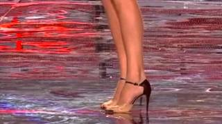 Умопомрачительная визитка на конкурс конкурс красоты. Miss Ukraine 2012