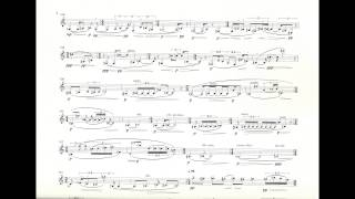 Enno Poppe - Holz /w score (for clarinet and ensemble) (2000)