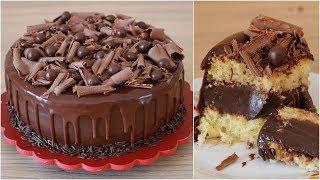 Bolo Tentação com Muito Chocolate – Bolo de Vitrine
