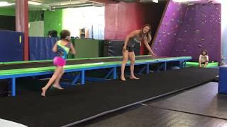 Teaching kids how t๐ do a running cartwheel