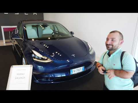 Consegna Tesla Model 3 PERFORMANCE in Italia